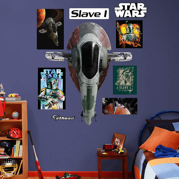 Fathead Star Wars Slave 1 Wall Decal - Wall Sticker Outlet