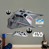 Fathead Star Wars Snowspeeder Decals