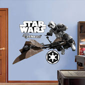 Fathead Star Wars Scout Trooper Speeder Bike Decal