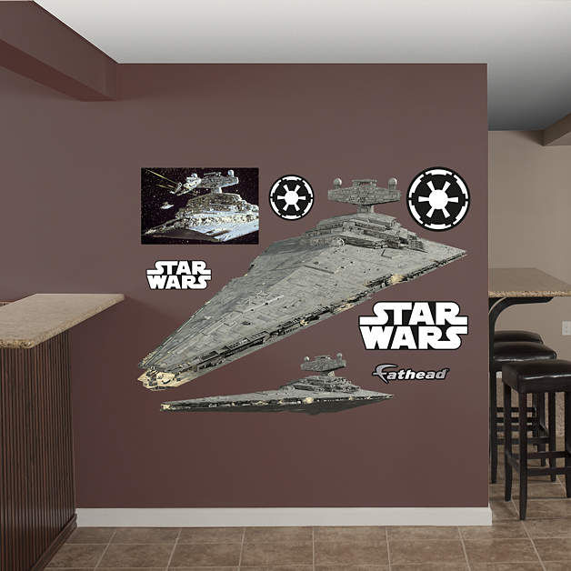 Fathead Star Wars Star Destroyer Wall Decal - Wall Sticker Outlet