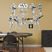 Fathead Star Clone Trooper Collection Wall Graphic