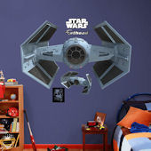 Fathead Star Wars TIE Advanced X1 Starfighter Ship