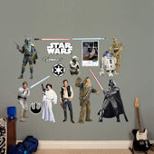 Fathead Star Wars Original Trilogy Characters