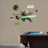 Fathead Star Wars Yoda Wall Graphic