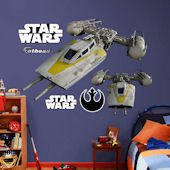 Fathead Star Wars Y Wing Starfighter Wall Decal