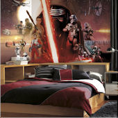 Star Wars Ep VII Prepasted XL Wall Mural