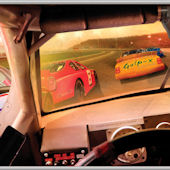 Stock Car Drivers View Minute Mural