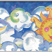 Sun and Moon Minute Mural