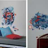 Superman Man of Steel Distressed Room Package