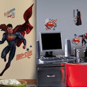Superman Man of Steel Decal Room Package