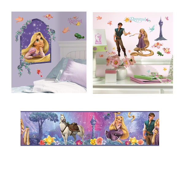 Tangled Complete Room Package - Wall Sticker Outlet