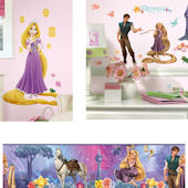 Tangled Glow in The Dark Complete Room Package