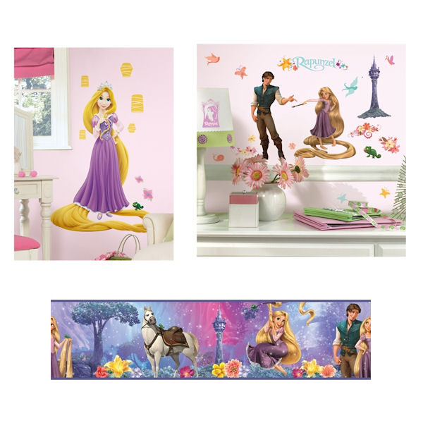 Tangled Glow in The Dark Complete Room Package - Wall Sticker Outlet