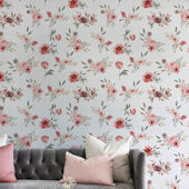 Urbanwalls Tea Time Wallpaper