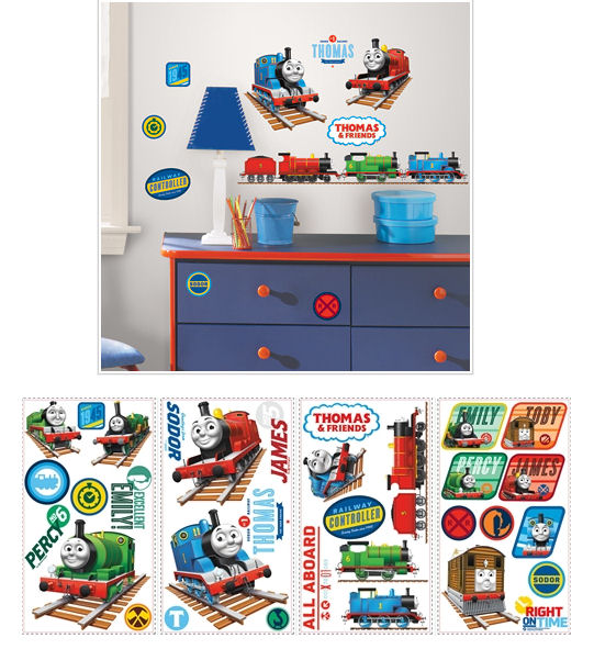 Thomas the Tank Engine Wall Decals - Wall Sticker Outlet
