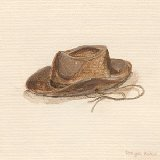 Childs Cowboy Hat Wall Canvas Art