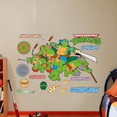 Fathead Classic Teenage Mutant Ninja Turtles Decal