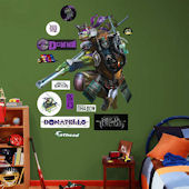 Fathead TMNT Donatello Movie Wall Decals
