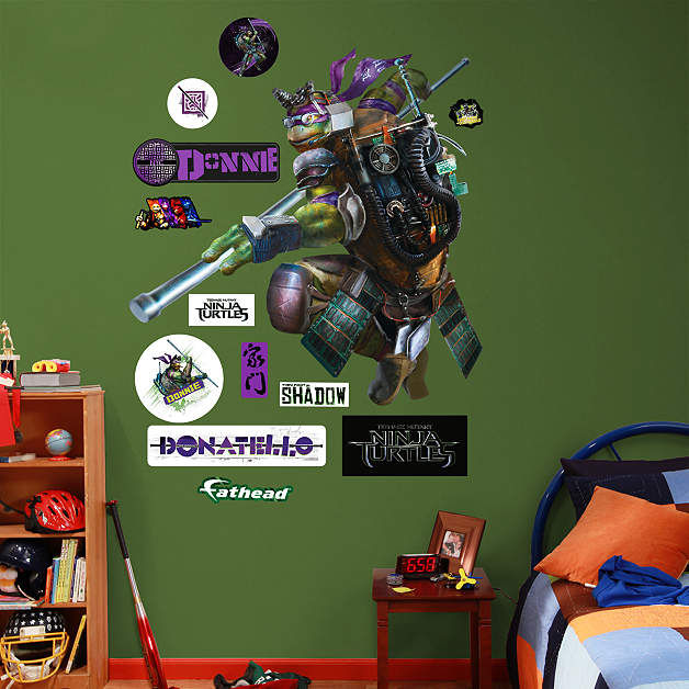 Fathead TMNT Donatello Movie Wall Decals - Wall Sticker Outlet