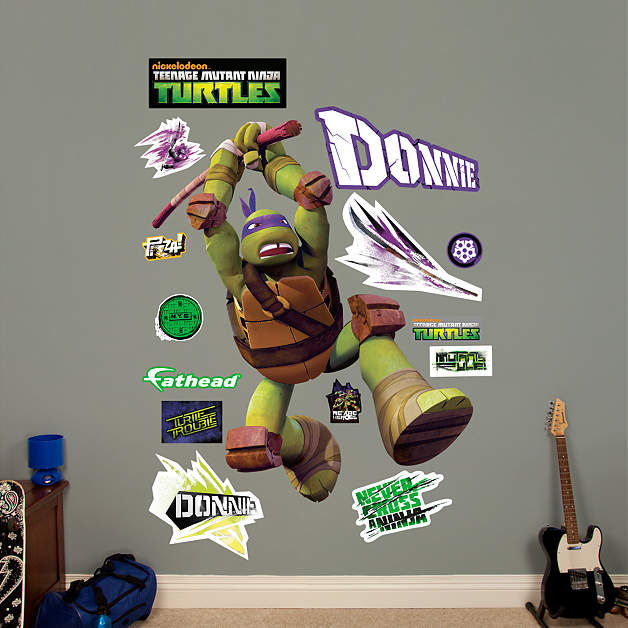 Fathead TMNT Donatello Wall Decal - Wall Sticker Outlet
