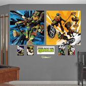 Fathead TMNT Dual Action Wall Murals