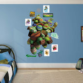 Fathead TMNT Heroes in a Half Shell Wall Decal