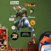 Fathead TMNT Michelangelo Movie Giant Wall Decal