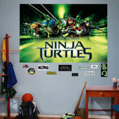 Fathead TMNT Movie Mural Wall Decals
