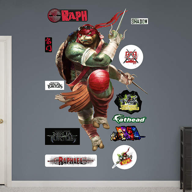 Fathead TMNT Raphael Movie Wall Decal - Wall Sticker Outlet