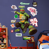 Fathead TMNT Raphael Wall Decal
