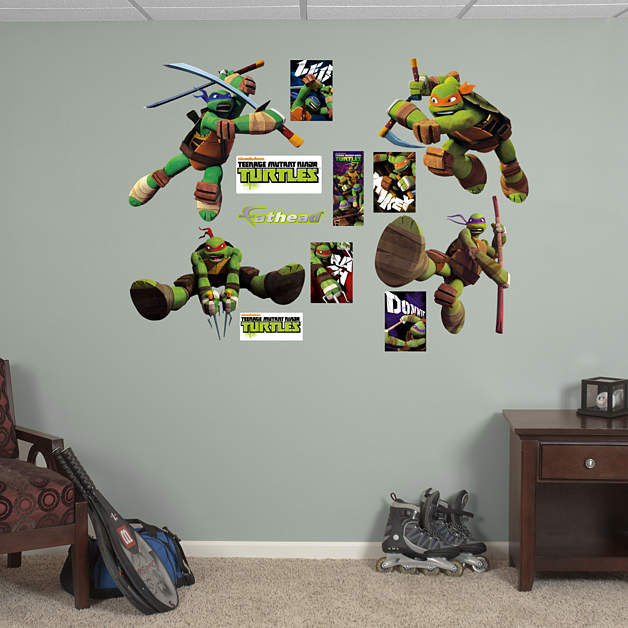 Fathead TMNT Collection Wall Decals - Wall Sticker Outlet