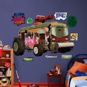 Fathead TMNT Shellraiser Wall Decals