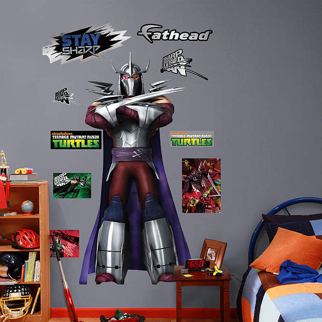 Fathead TMNT Shredder Wall Decals - Wall Sticker Outlet