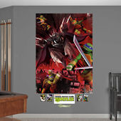 Fathead TMNT Shredder Battle Mural Wall Decals