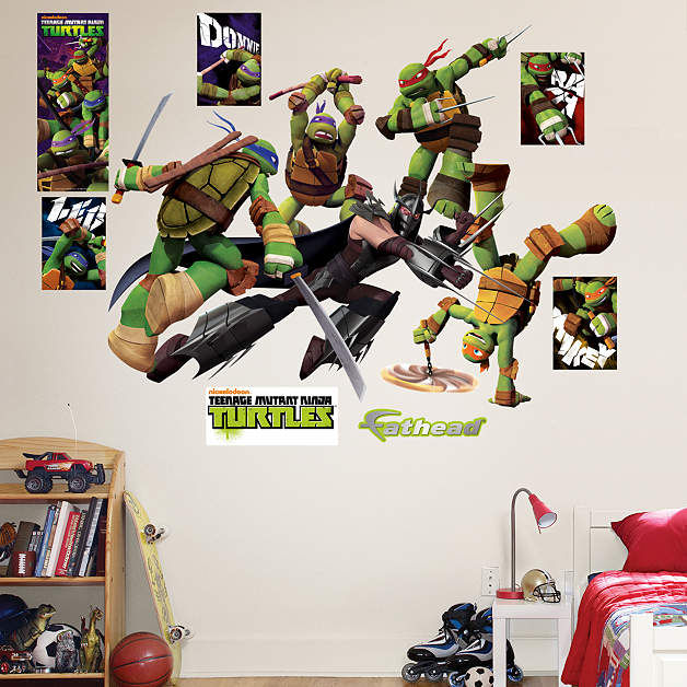 Fathead TMNT Shredder Battle Wall Decals - Wall Sticker Outlet