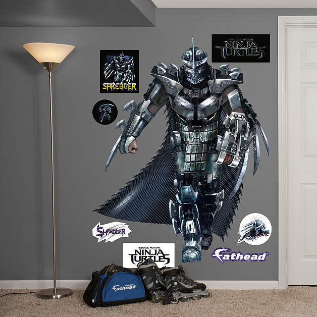 Fathead TMNT Shredder Movie Wall Decals - Wall Sticker Outlet