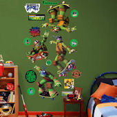 Fathead TMNT Skateboard Collection Wall Decal