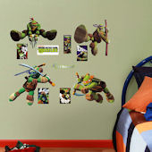 Fathead TMNT Jr  Wall Decals