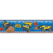 Tonka Truck Peel and Stick Wall Border