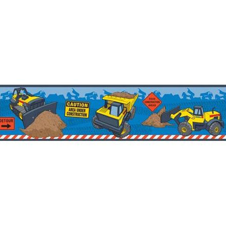Tonka Truck Peel and Stick Wall Border - Wall Sticker Outlet
