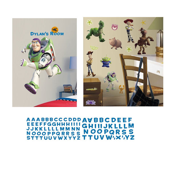 Buzz Lightyear Personal Decal Room Package - Wall Sticker Outlet