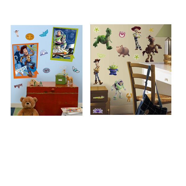 Toy Story Poster Room Package - Wall Sticker Outlet
