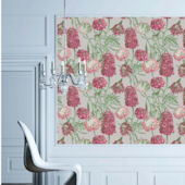 Hydrangea Blush Peel And Stick Wallpaper