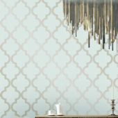 Marrakesh Bronze Gray Peel And Stick Wallpaper