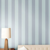 Stripe Cotton Blue Peel And Stick Wallpaper