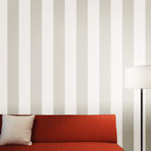 Stripe Taupe Peel And Stick Wallpaper