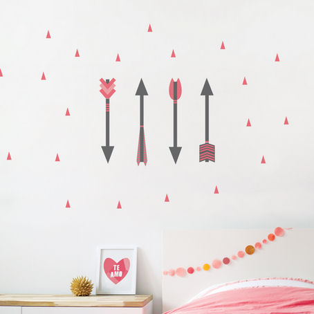 Arrows Fabric Peel And Stick Wall Decals
