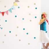 Confetti Fabric Peel And Stick Wall Decals