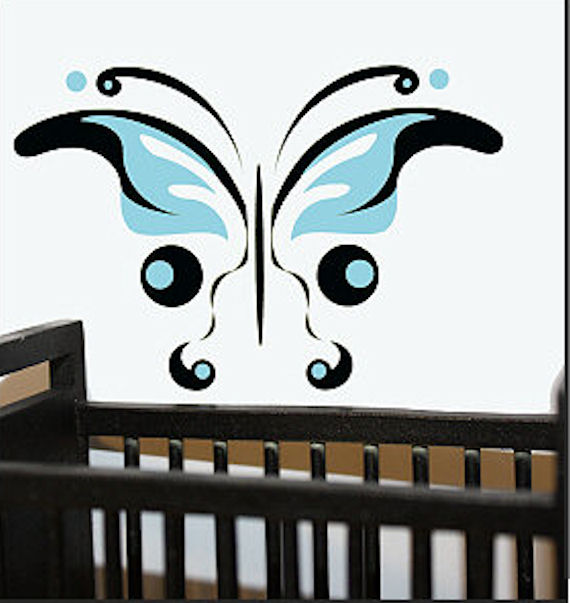 Butterfly Traceable Mural