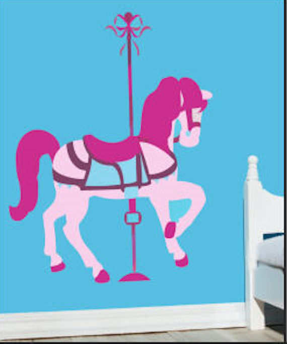 How to paint carousel horses